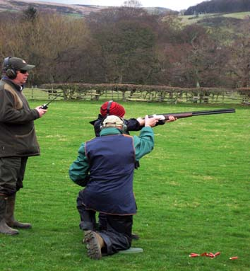 childrens clay pigeon shotting birthday parties